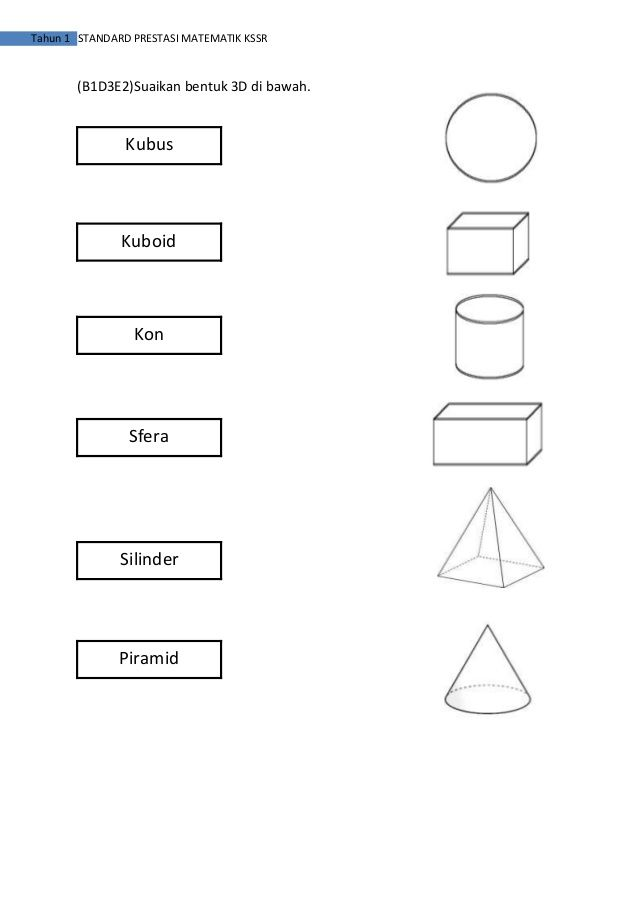 Image Result For Soalan Matematik Kssr Tahun 1 Math Worksheets Math Worksheets