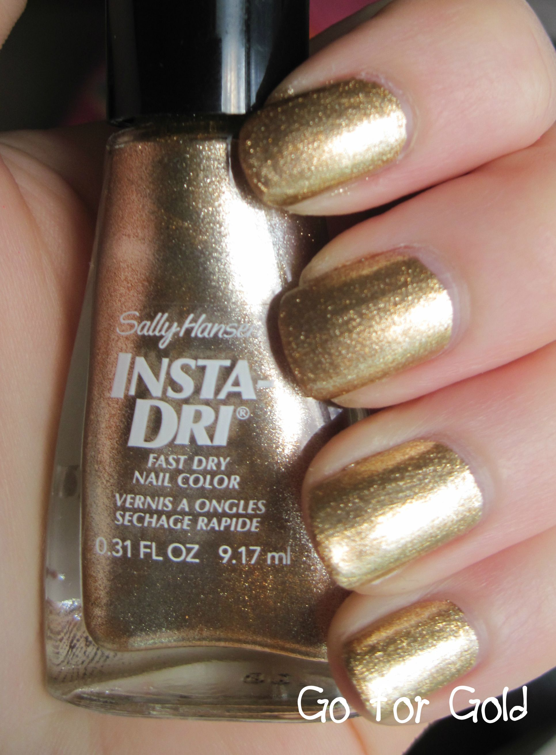 Bought This Today For My Formal Event Weekend It S Fabulous Sally Hansen Insta Gold Nail Polishgold