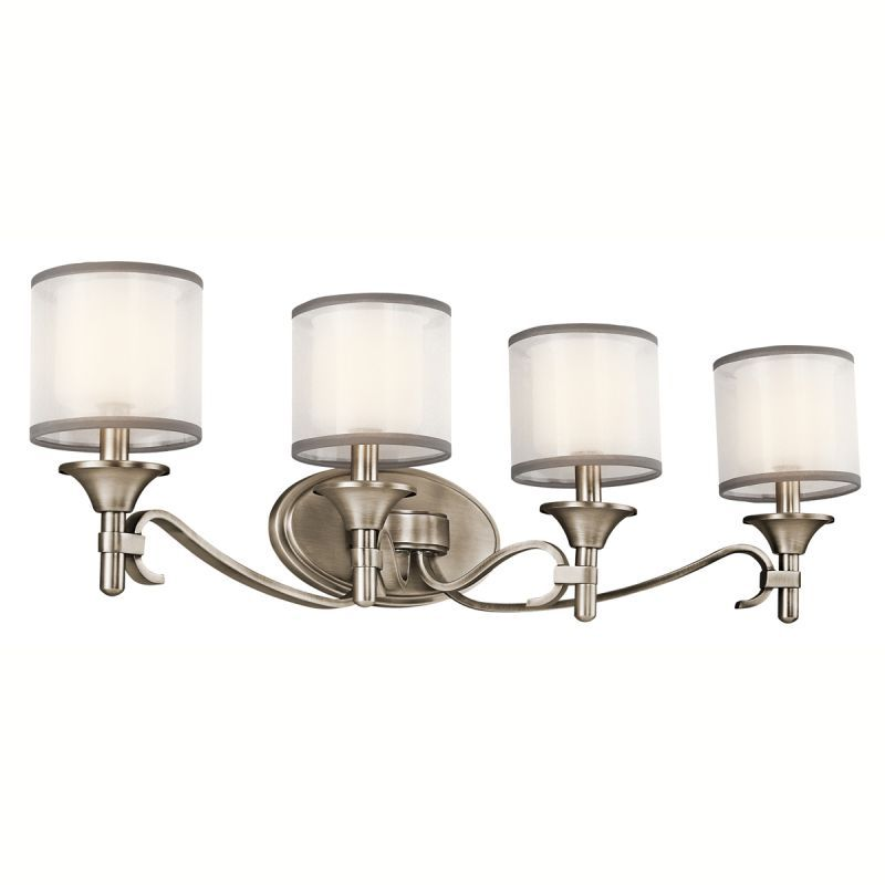 Kichler 45284 lacey 31 wide 4 bulb bathroom lighting fixture kichler 45284 lacey 31 wide 4 bulb bathroom lighting fixture antique pewter indoor lighting mozeypictures Gallery