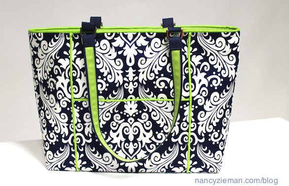Its great fun to sew handbags sewing bags wallets such nancy ziemanclovertrace n create bag tote templates nancy zieman blog maxwellsz