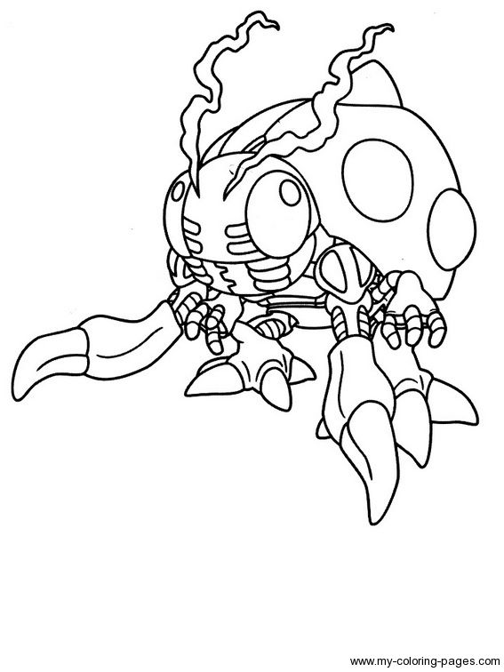 Digimon Coloring Page Cartoon Coloring Pages Coloring Pages