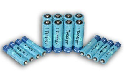 Tenergy High Capacity Nimh Rechargeable Battery Package 8 Aa 2600 Mah And 8 Aaa 1000 Mah By Tenergy 15 98 Rechargeable Batteries Nimh Nimh Battery