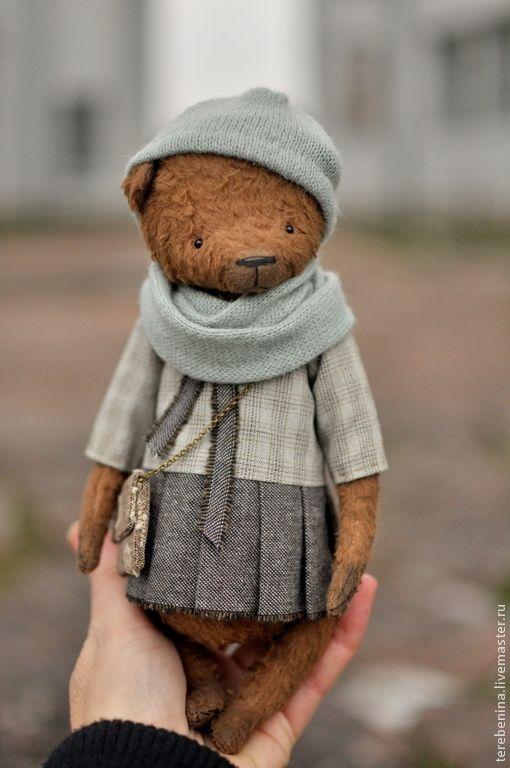 Handmade Russian teddy bear.