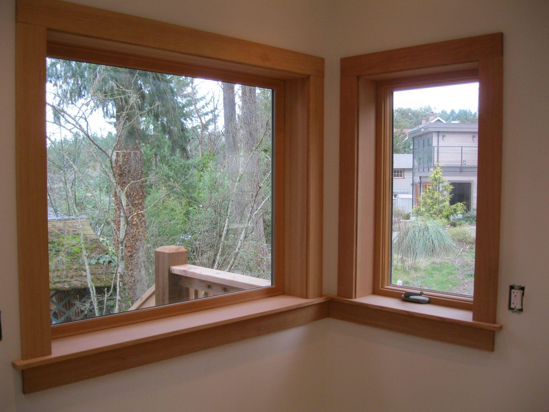 Farmhouse Window Trim - Love Grows Wild  Interior Window Casing Ideas