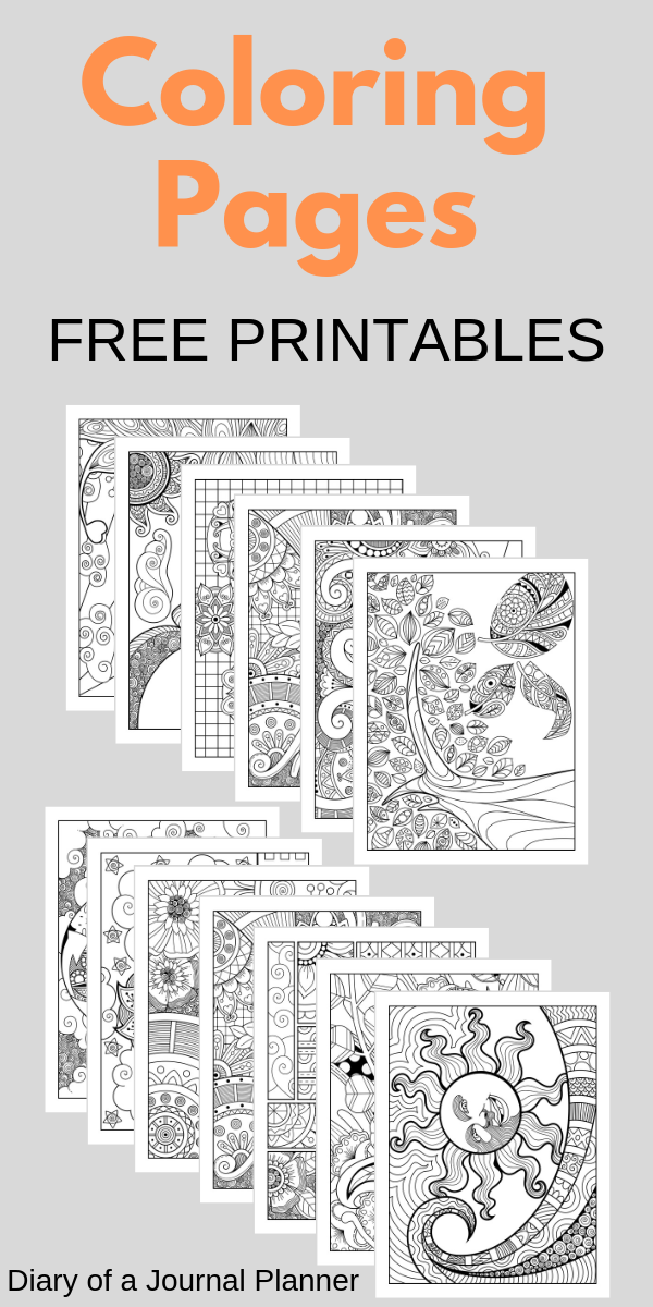 13 Free Printable Mindfulness Colouring Sheets | Mindfulness ...
