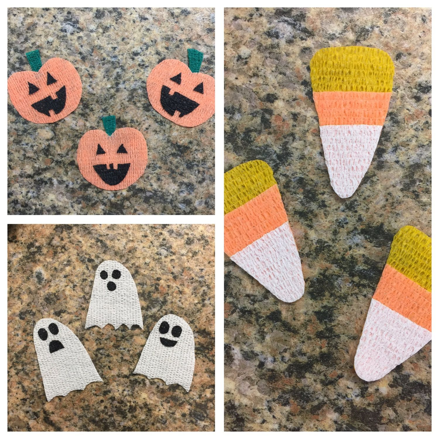 Halloween Theme Vet Wrap Art Made With Co Flex Bandages They
