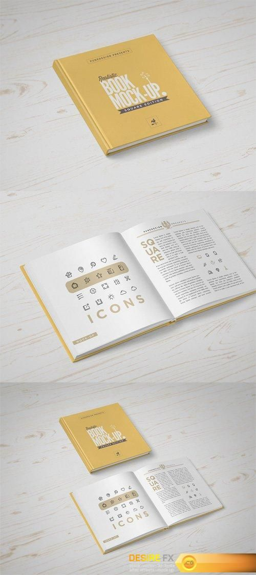 Httpdesirefxsquare Book Mock Up Template Mockup