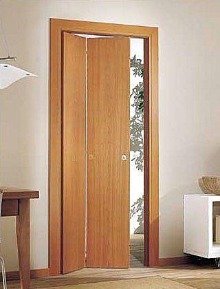 Puerta plegable decoraci n y algo mas puertas plegables puertas y puertas correderas - Puertas de acordeon de madera ...
