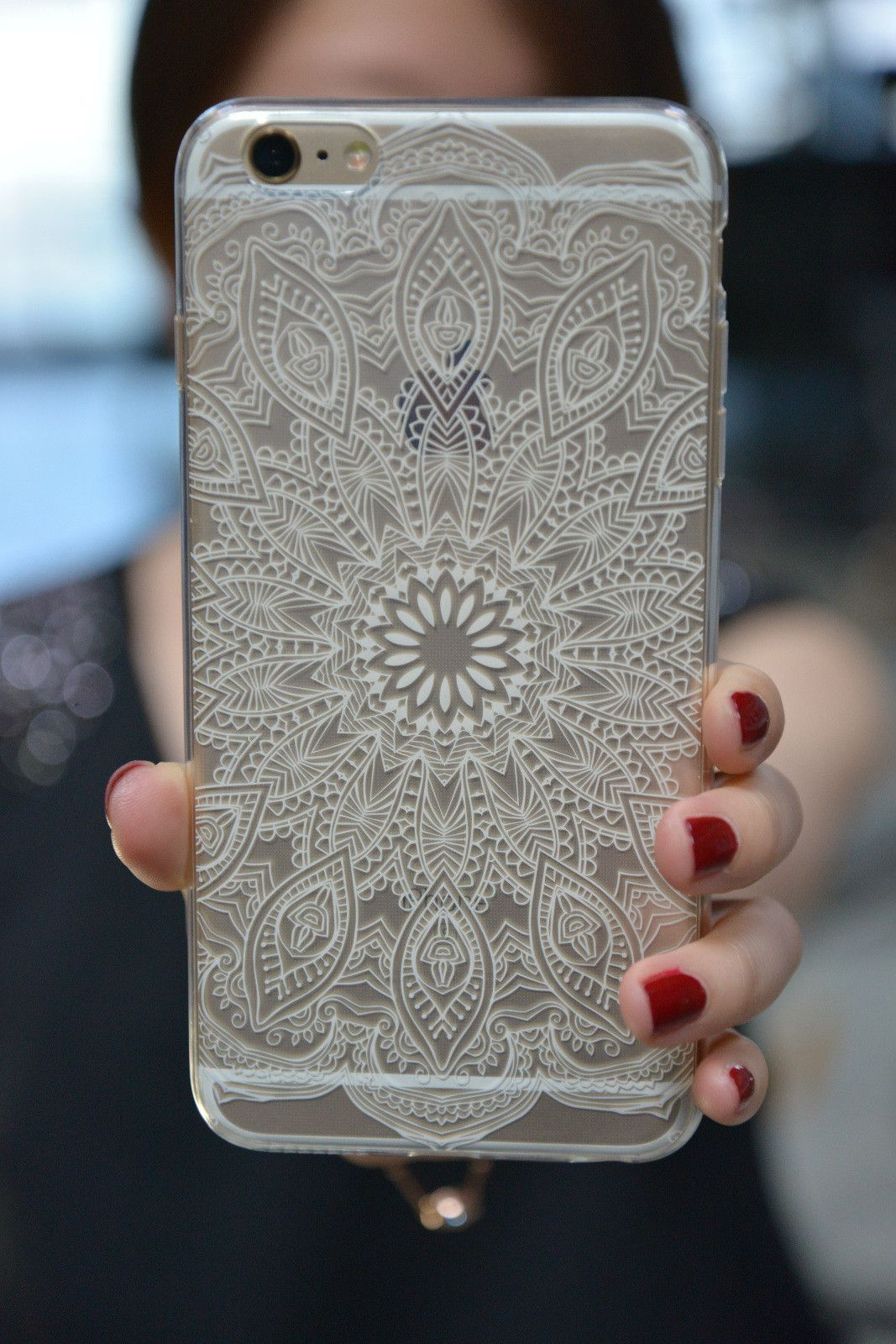 Mandala Clear Case for iPhone 6S/ 6S Plus | Iphone 6s case, Case ...