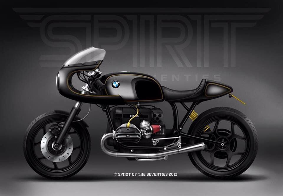 bmw r80 pub racer from spirit of the seventies bike efix. Black Bedroom Furniture Sets. Home Design Ideas