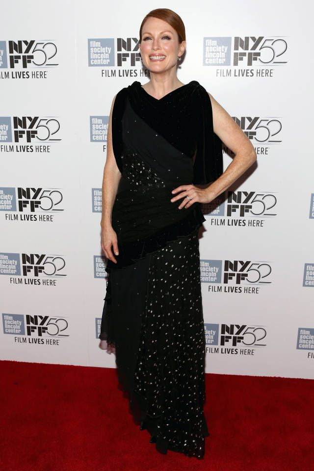 Julianne Moore. The 52nd annual New York Film Festival is in full swing and we've got the best dressed looks here: