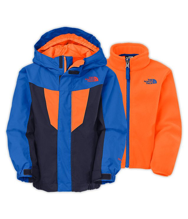 1feed05a66a5 NORTHFACE TODDLER BOYS  VORTEX TRICLIMATE®