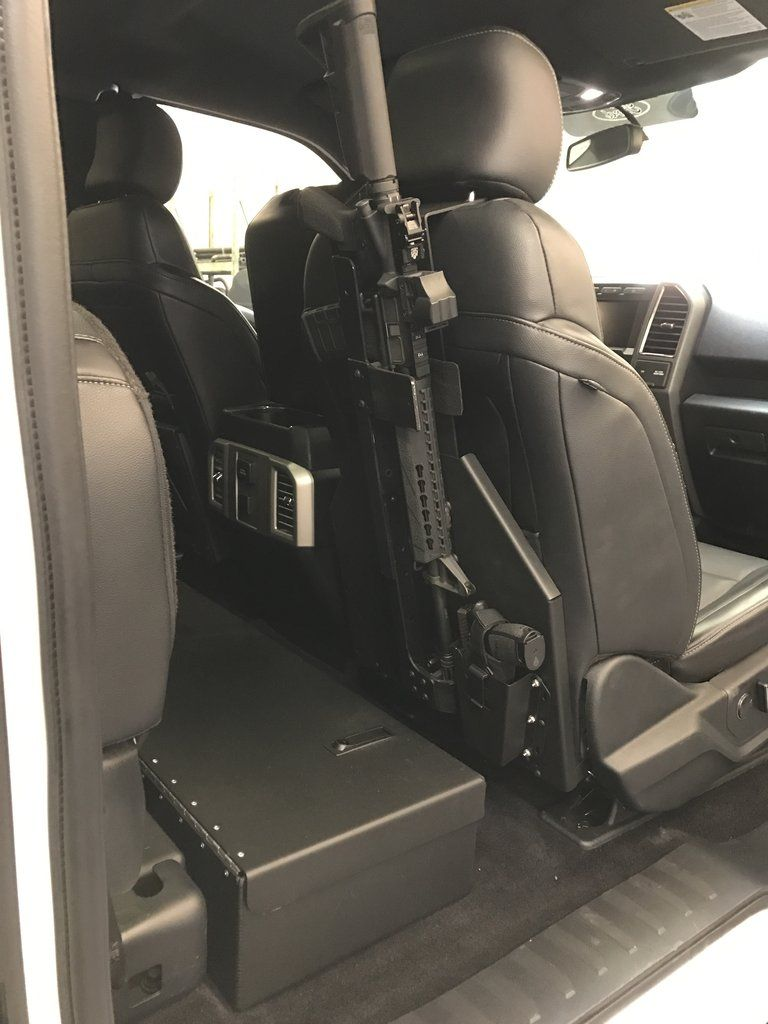 Dodge Ram Truck Back Of Seat Mount Kit For Ar Rifle Mount