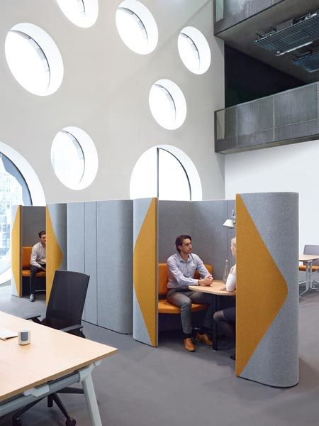 Haven booth | Haven office pod | Acoustic seating ...