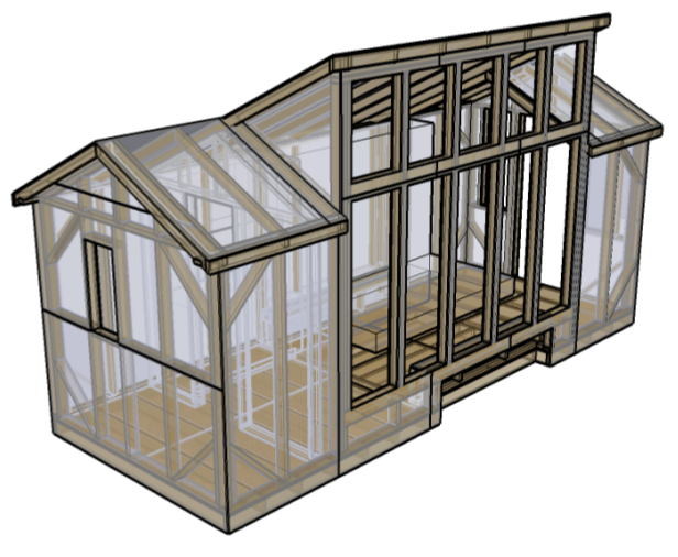 8x20 Solar House Free Downloadable Tiny House Plans Here