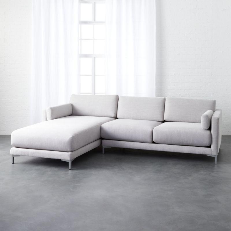 District 2 Piece Sectional Sofa 2 Piece Sectional Sofa Modern