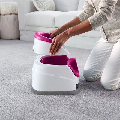 Pink Flambe Ingenuity Baby Base 2-In-1 Seat