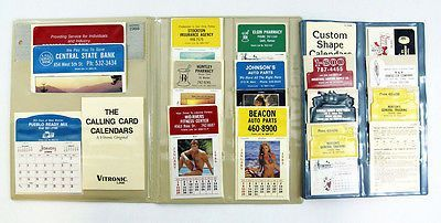 Vintage 1988 1989 Press N Stick Calendar Kit 17 Calendars Use 1989