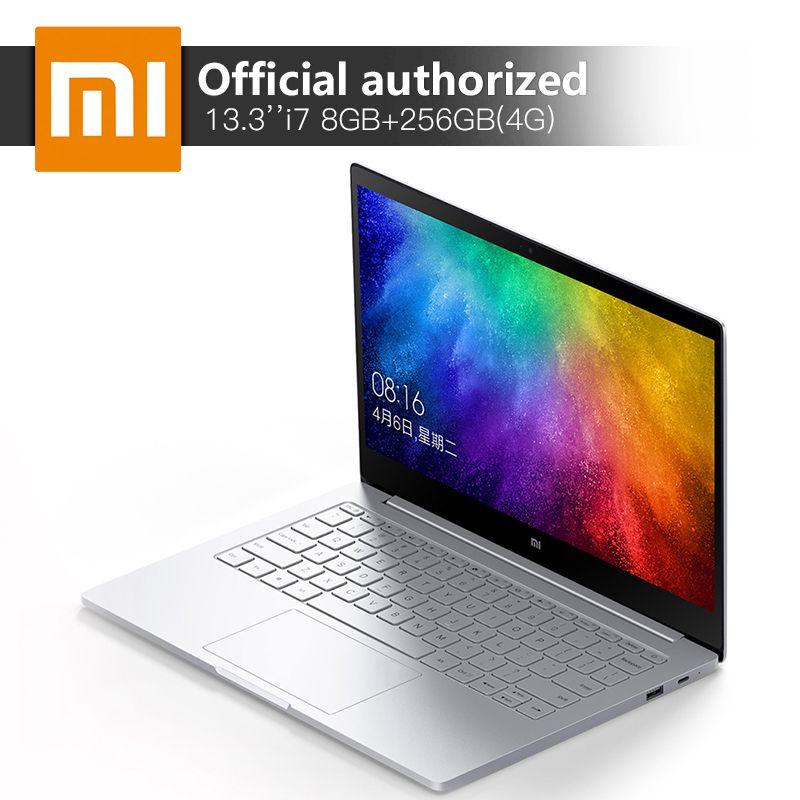 Original Xiaomi Notebook Air Intel Core I7 7500u 13 3 8gb Ddr4 256gb Ssd Mi Computer 940mx 1gb Gddr5 Windows10 4g Laptop Price 1101 5 Xiaomi Ssd Intel Core