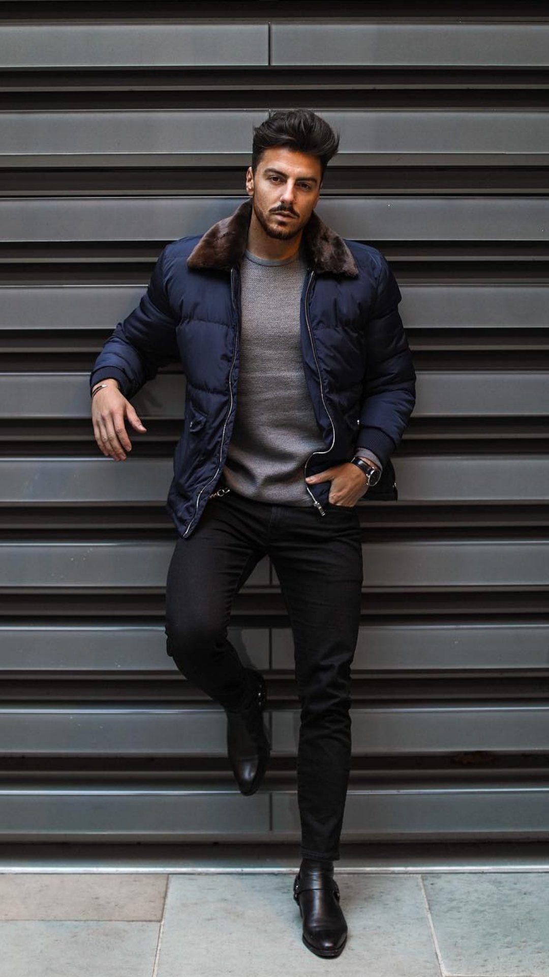 6f88f154f01 5 Dapper Winter Outfits For Men  winterfashion  fallfashion  mensfashion   streetstyle