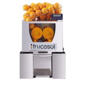 Automatische Fruchtsaftpresse Modell F-50 C , mit 12-kg-Behälter, digitale Programmierung