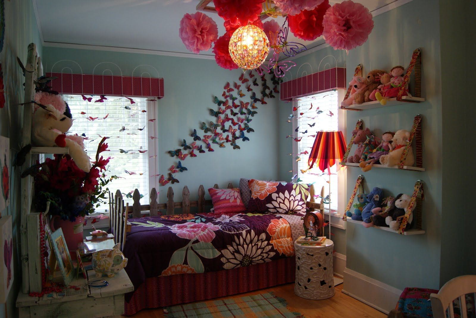 Pin by Katrina Phillips on Kid\'s Room | Butterfly bedroom ...