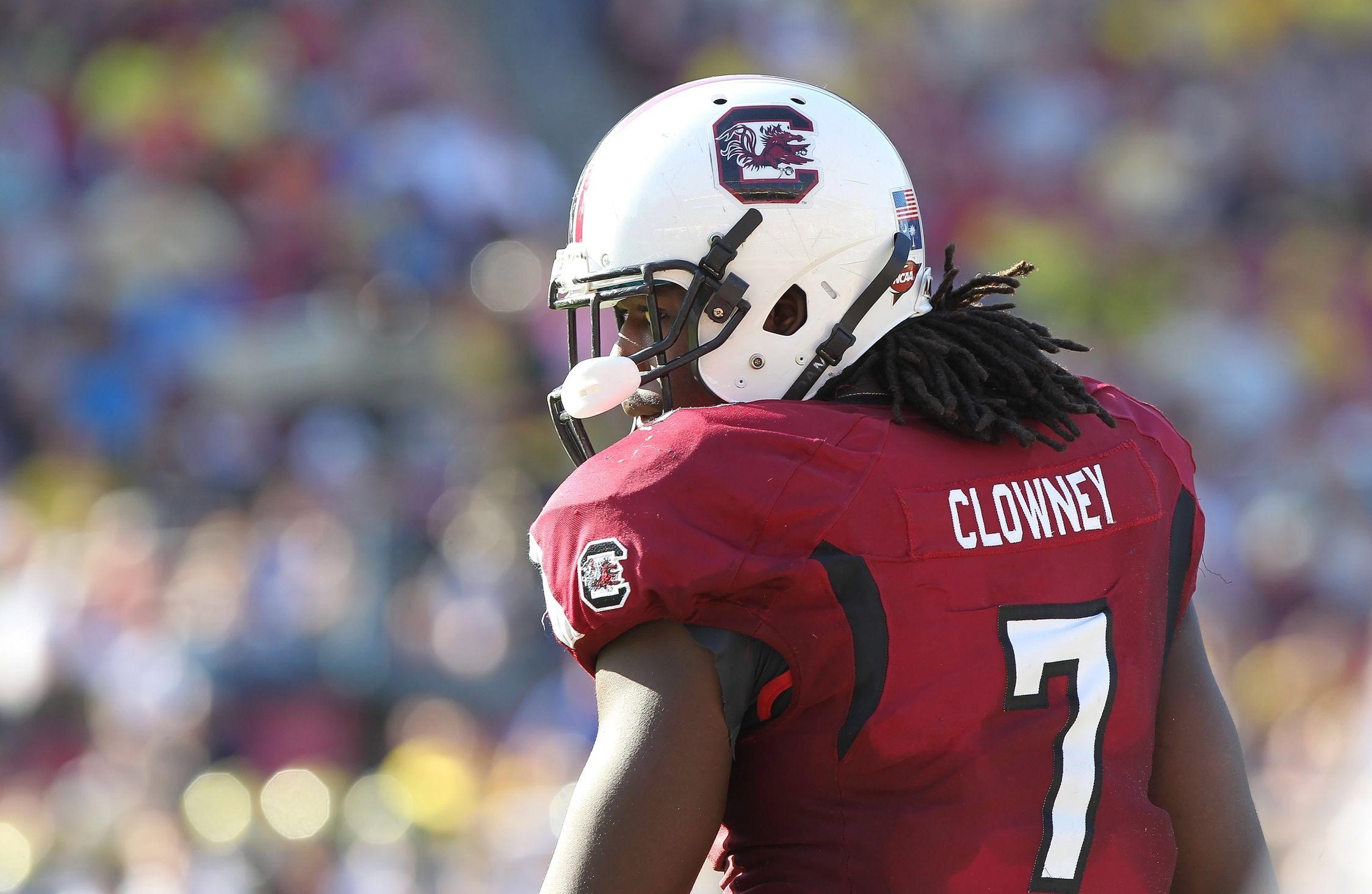 South Carolina Gamecocks defensive end Jadeveon Clowney 7