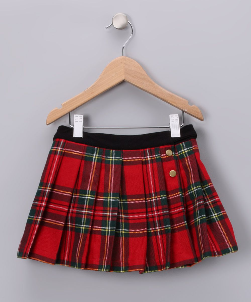 69435478a4 Red Plaid London Skirt - Toddler & Girls | skirts for Vayda | Red ...
