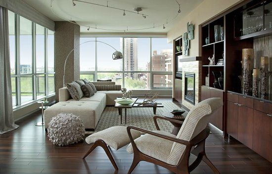 moderne schienenbeleuchtung living room by shelly riehl david rooms photo gallery of beautiful decorated
