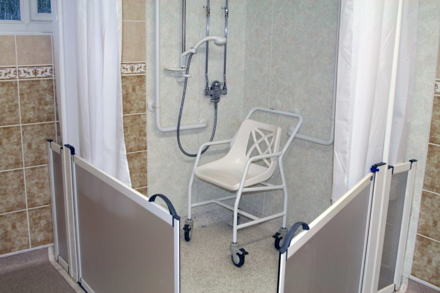 House-Saving Bathtub Alternate options (With images) | Shower chair,  Bathroom design tool, Grab bars in bathroom