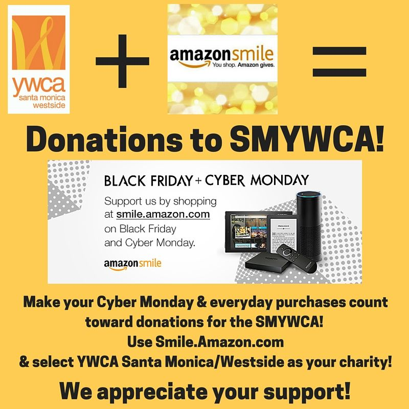Thank You For Supporting Smywca When Shopping Online Via Smile