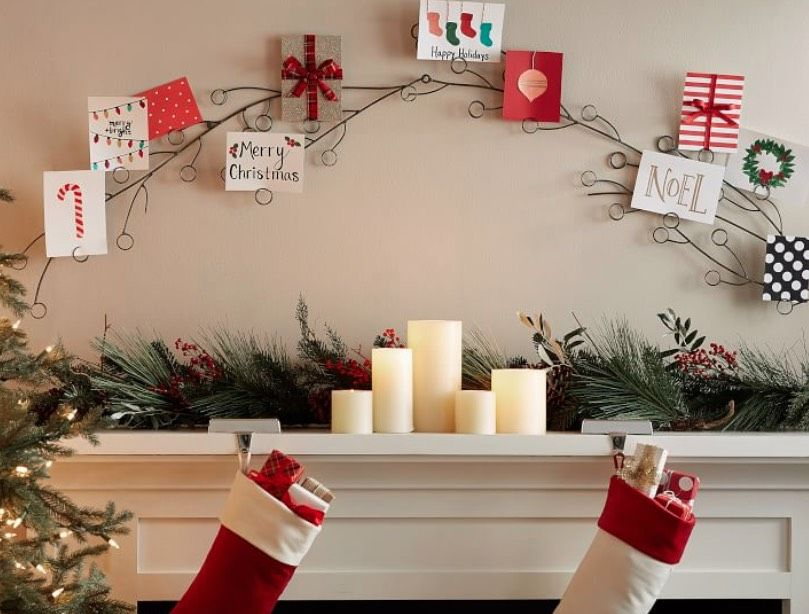 10 Christmas Card Display Ideas That Showcase Your Most Beautiful