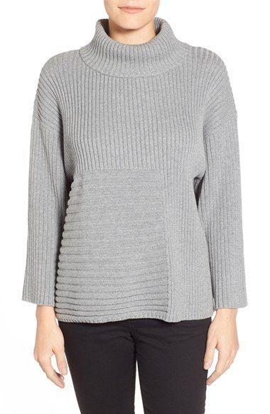 6639051cdc4 Vince Camuto Ribbed Turtleneck Sweater (Regular   Petite)
