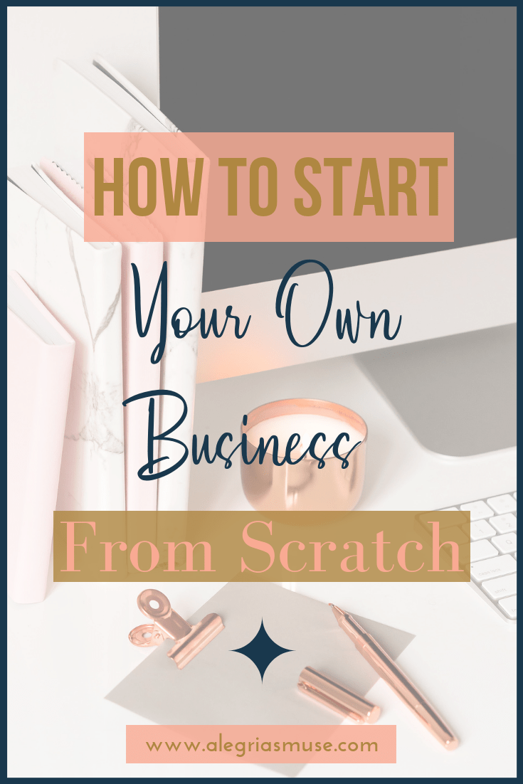 How To Start Your Own Business From Scratch is part of Starting your own business, Start a business from home, Start up business, Business entrepreneur, Online entrepreneur, Success business - Going  solo  in the business world might sound like a challenge but it's one that's increasingly popular  These days, you too can start your own business!