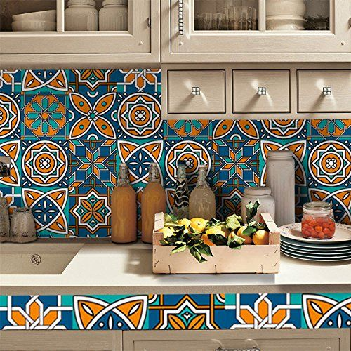 Removable Tiles For Apartment Decorating Vancytop 3D Tile Pattern Diy Removable Wall Stickers For