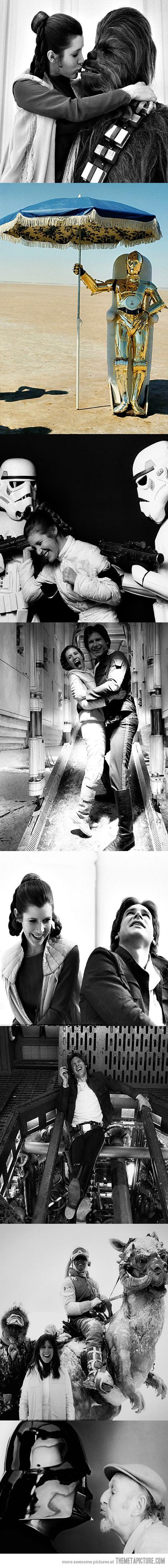 Star Wars. Love.