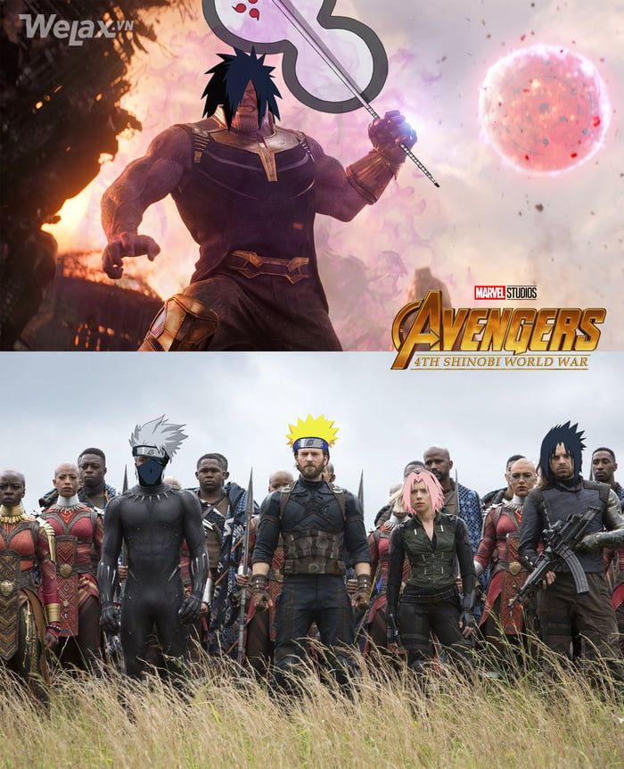 The end is near! Funny naruto memes, Naruto funny, Anime