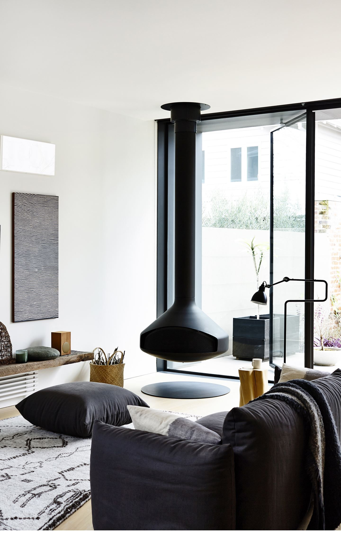 Gallery – Annick and Stephen\'s serene terrace extension | Living ...