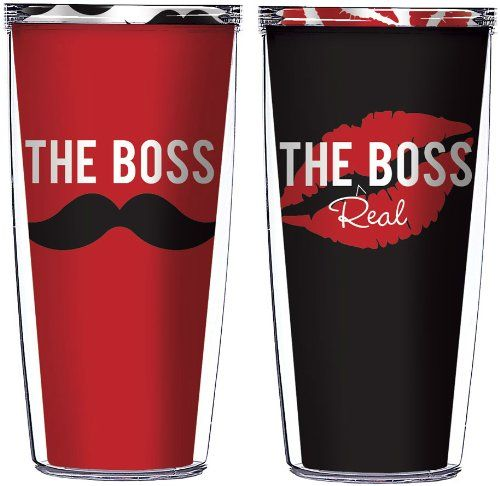 The Boss And The Real Boss Tumblers For Couple Cute