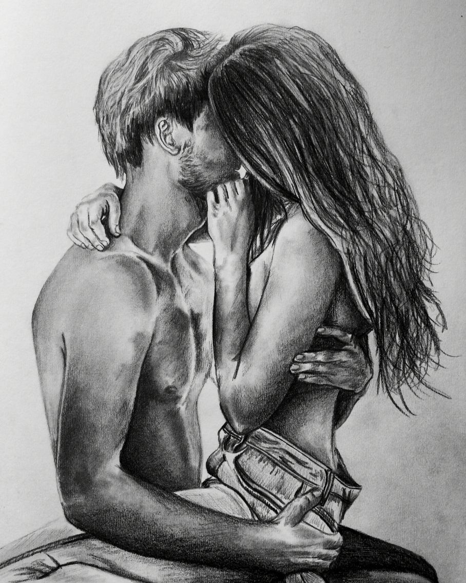 Love Art Passion A3 Pencil Study