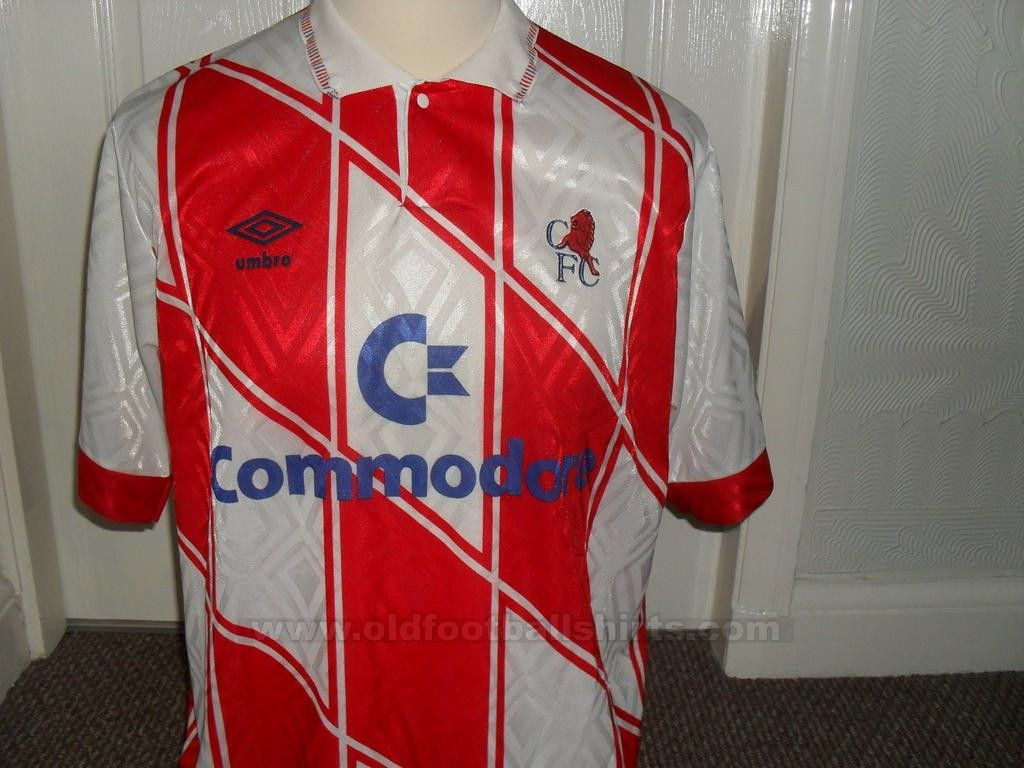 Chelsea football shirt 1990 - 1992  023999c69