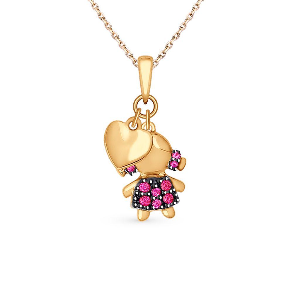 Pingente Menina Patins Ouro Amarelo e Diamantes Mama  1ea6095aef3f0
