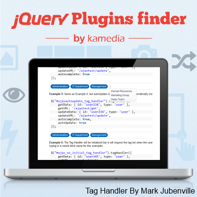 Tag Handler is a jQuery plugin used for managing tag-type