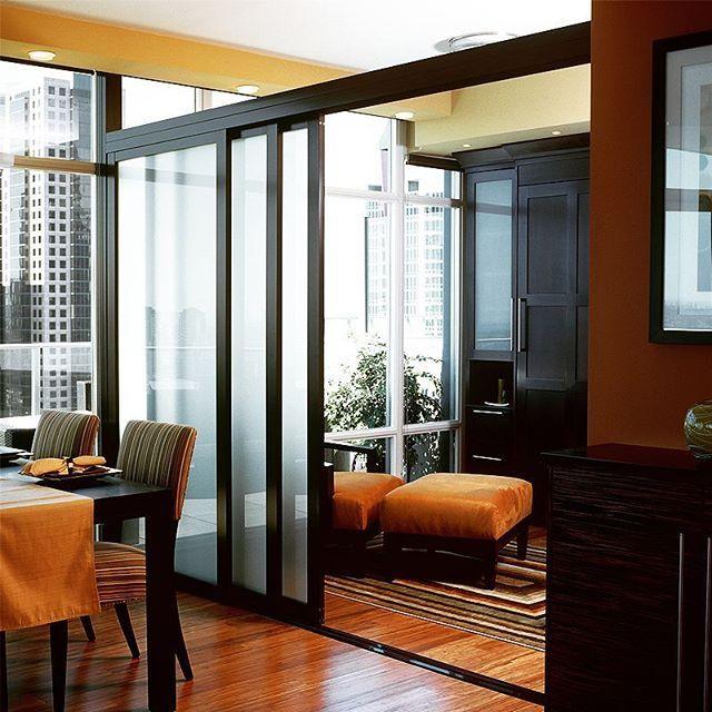 Modern Glass Room Dividers For Interiors The Sliding Door