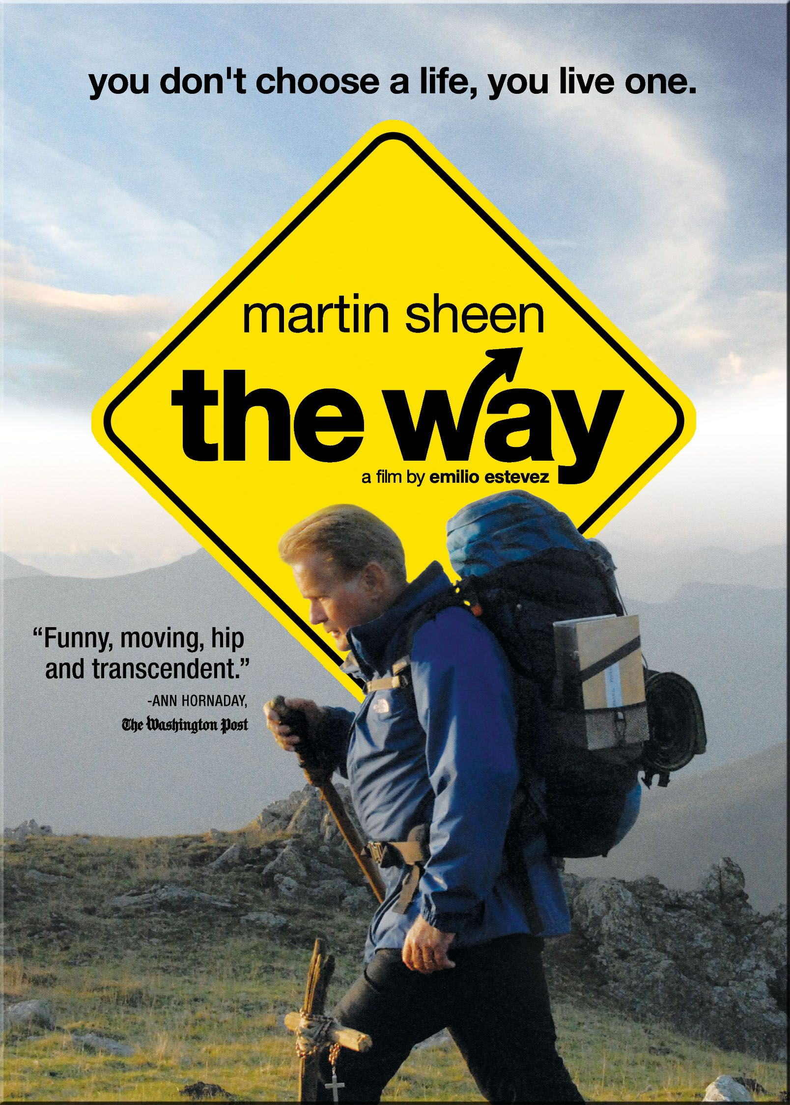 """""""The Way"""" with Martin Sheen -- I loved this movie. It was filmed in it's entirety in Spain and France along the actual Camino de Santiago. It truly is an inspiring story about stepping out of our daily lives to simply walk, reflect and connect with others. I hope to walk the Camino de Santiago one day! It's on my bucket list! :)"""