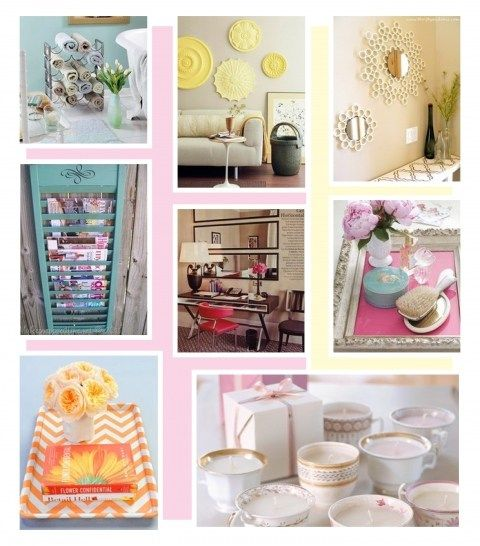 Easy Diy Projects With Household Items: Repurpose Household Items To Make Your House Chic