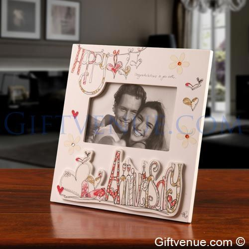 Happy Anniversary Gift Frame. Wedding anniversary gifts ...