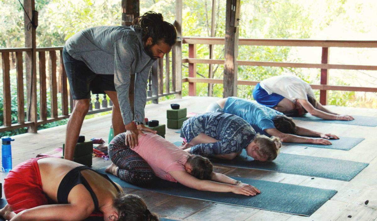 Yoga Retreat Chiang Mai Suan Sati Will Adjustment Good Price Yoga Retreat Yoga Inspo Best Meditation
