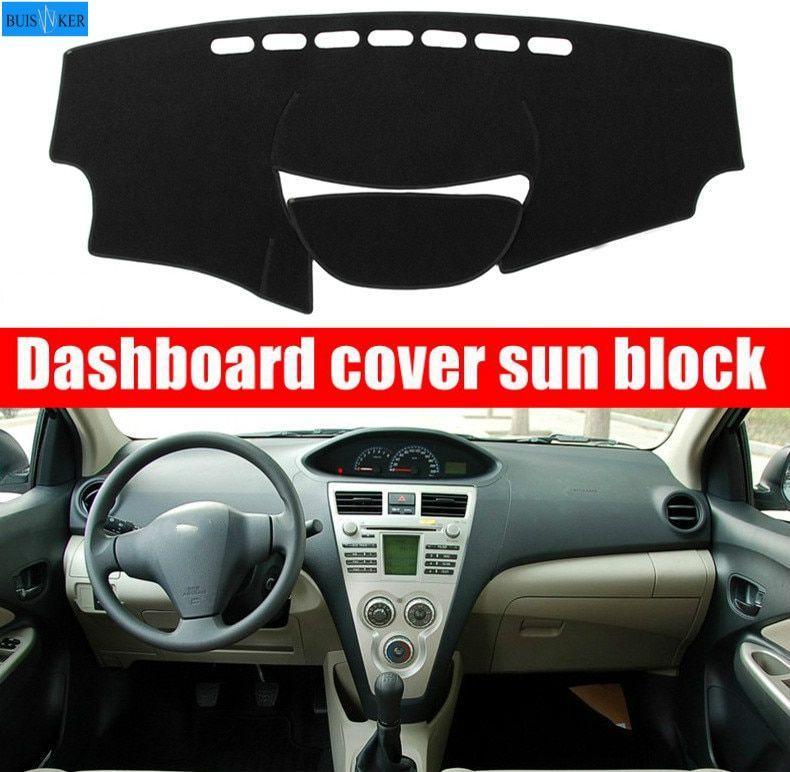 Limited Offer Car Inner Auto Dashboard Cover Dashmat Pad Carpet Sun Shade Dash Board Cover Fit For Toyota Vios 2009 2010 2011 2012 2013 Di 2020