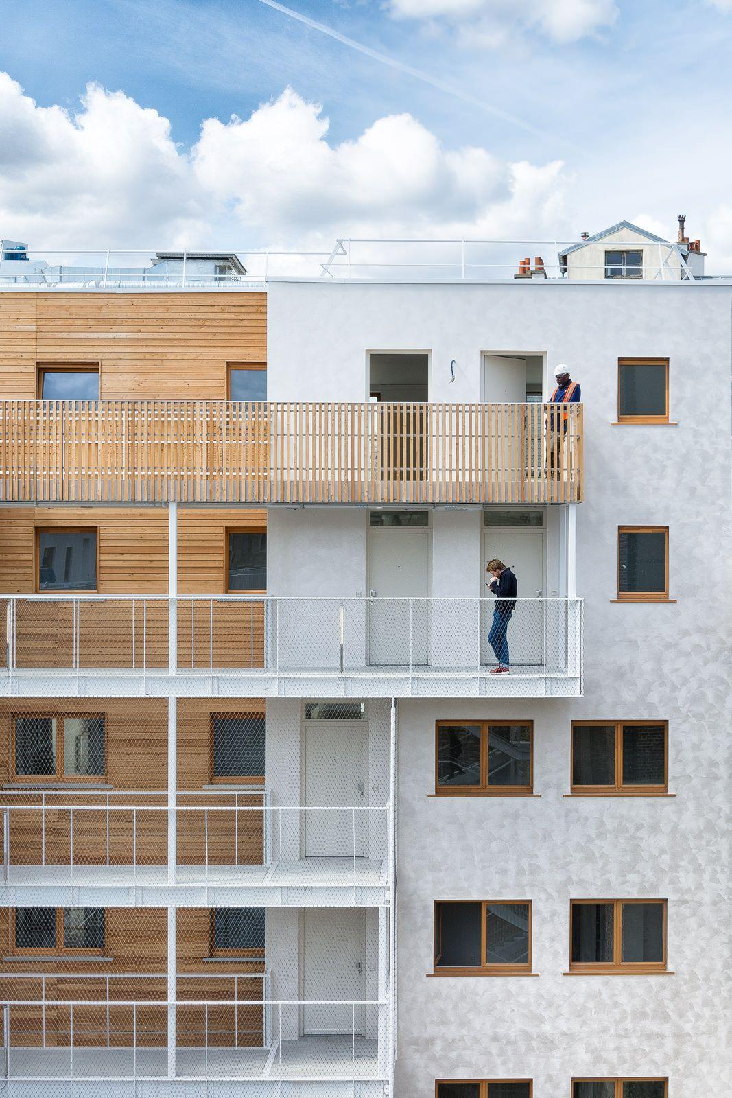 AAVP   Vincent Parreira   Immeuble Less à Paris   12